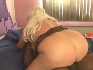 cougar blond sugar with bbc