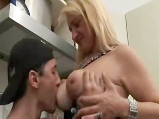 european milf and son