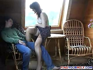 experienced woman drilled by son part 2