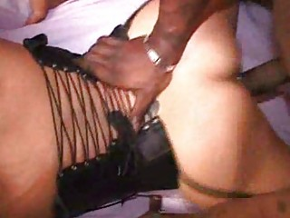 dark cumshots on extremely impressive mature babe