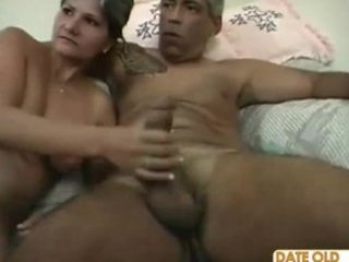 naughty bushy old slut