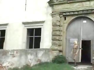 bleached elderly al fresco