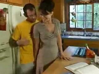 slutty lady copulates a more amateur boy inside
