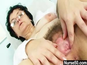 old lady head medic horny hirsute vagina spreading