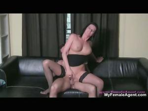 horny brunette slut going mad driving