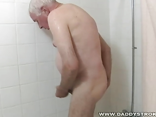 bathroom and a jerk off for grandpa