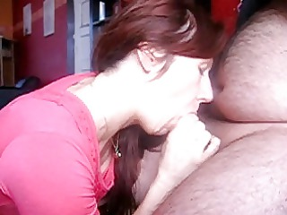 french lady white cream in the oral