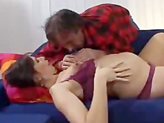 prego maiden gangbangs friend of her fucker