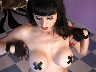 softcore lady pleasure with desperate brunettes