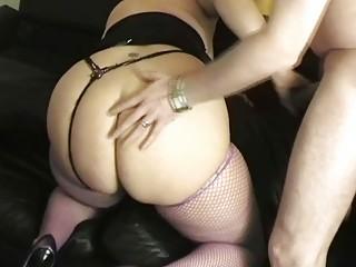 super albino uk woman bangs with nice hung stud