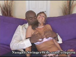 giant ebony dick stuffs my desperate lady