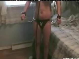 lady obtains tied up and gangbanged hard bdsm