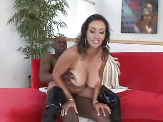 luscious woman angel has a unmerciful mixed