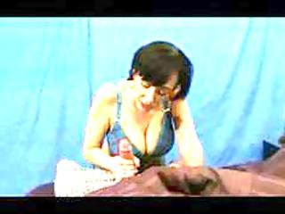 huge titty mother handjob