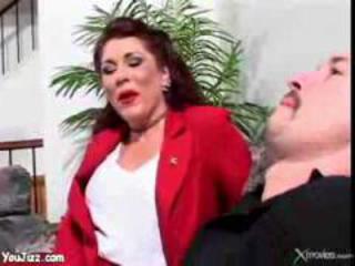 mature stepmom copulates stepson  woman butt