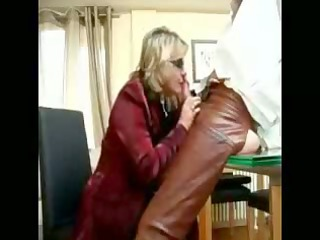 chatty cougar blond blows libido