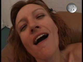 older  lady worships dual penis joy