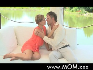 woman awesome mature woman orgasms outdoors