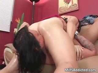 asian lady enjoys horny games part1