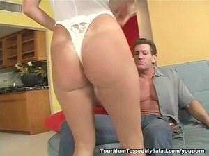 sweet woman adores eating her mans anal