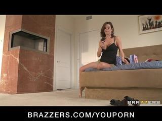 busty bigtit brunette lady bangs huge cock