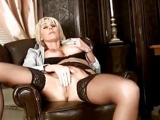 sensual cougar masturbation