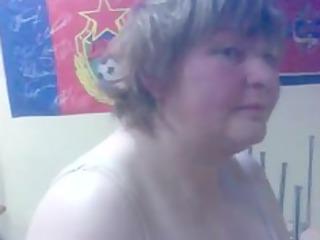 drunk russian girl shows striptease
