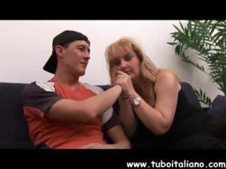 horny older  american pale obtains fingered and