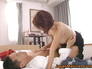 busty japanese older angels licking part4