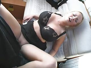 naughty woman gangbanged and facial inside