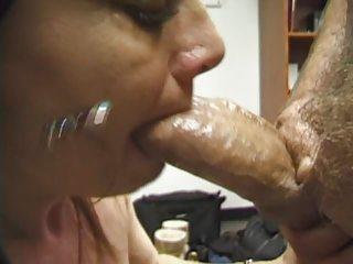 woman blow work