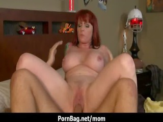 large bossom mommy gets a huge dick in her vagina