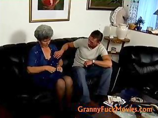 elderly shila with her more juvenile  fucker