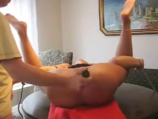 tied up cougar wife fisted hard