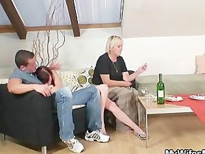 drunk granny bag seduces me in porn