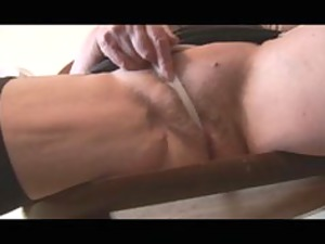 cougar hairy old kissing penis