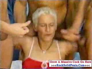 hardcore older orgy