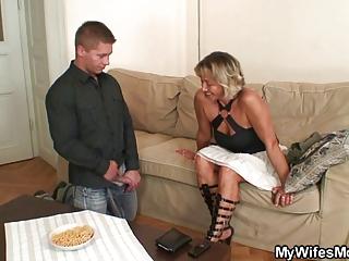 maiden finds him piercing her woman
