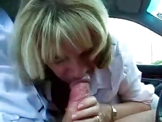 older  associate cheats with her boss at the car