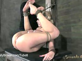 extremely impressive woman fucked rough into
