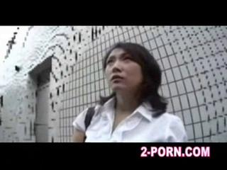 mature babe has a sperm asian massage