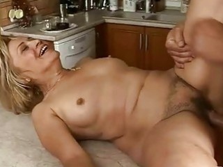 lusty elderly obtains drilled uneasy  into the