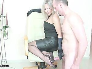 dirty banging handjob