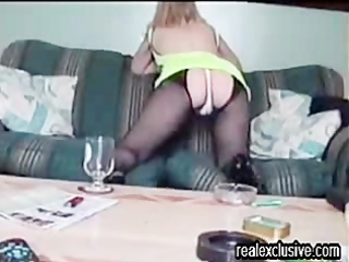 home video with my naughty ex wife monica
