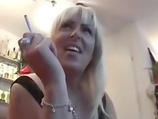 smoking grownup