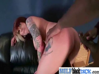 sweet woman get gang-banged uneasy by dark penis