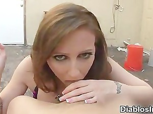 hailey inexperienced smoking bj