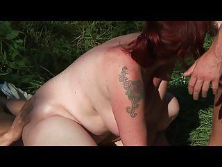 bid breast lady banged ass by 2 fresh sporty men