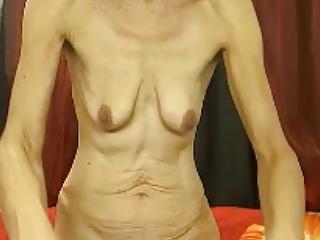 elderly boobs