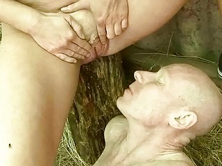 cougar duo pissing and gangbanging